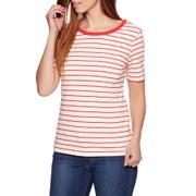 Levis Back Scoop Ladies Short Sleeve T-Shirt