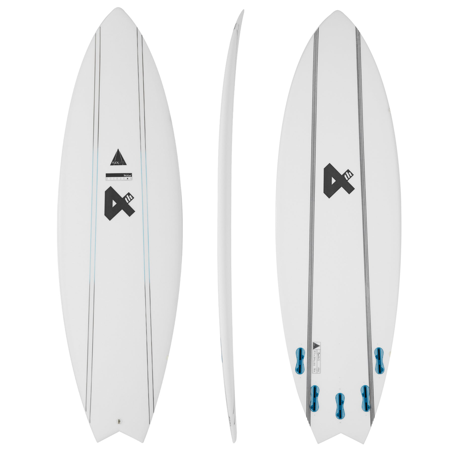 Fourth Surfboards Weekend Rockstar Flexlite FCS II 5 Fin Surfboard