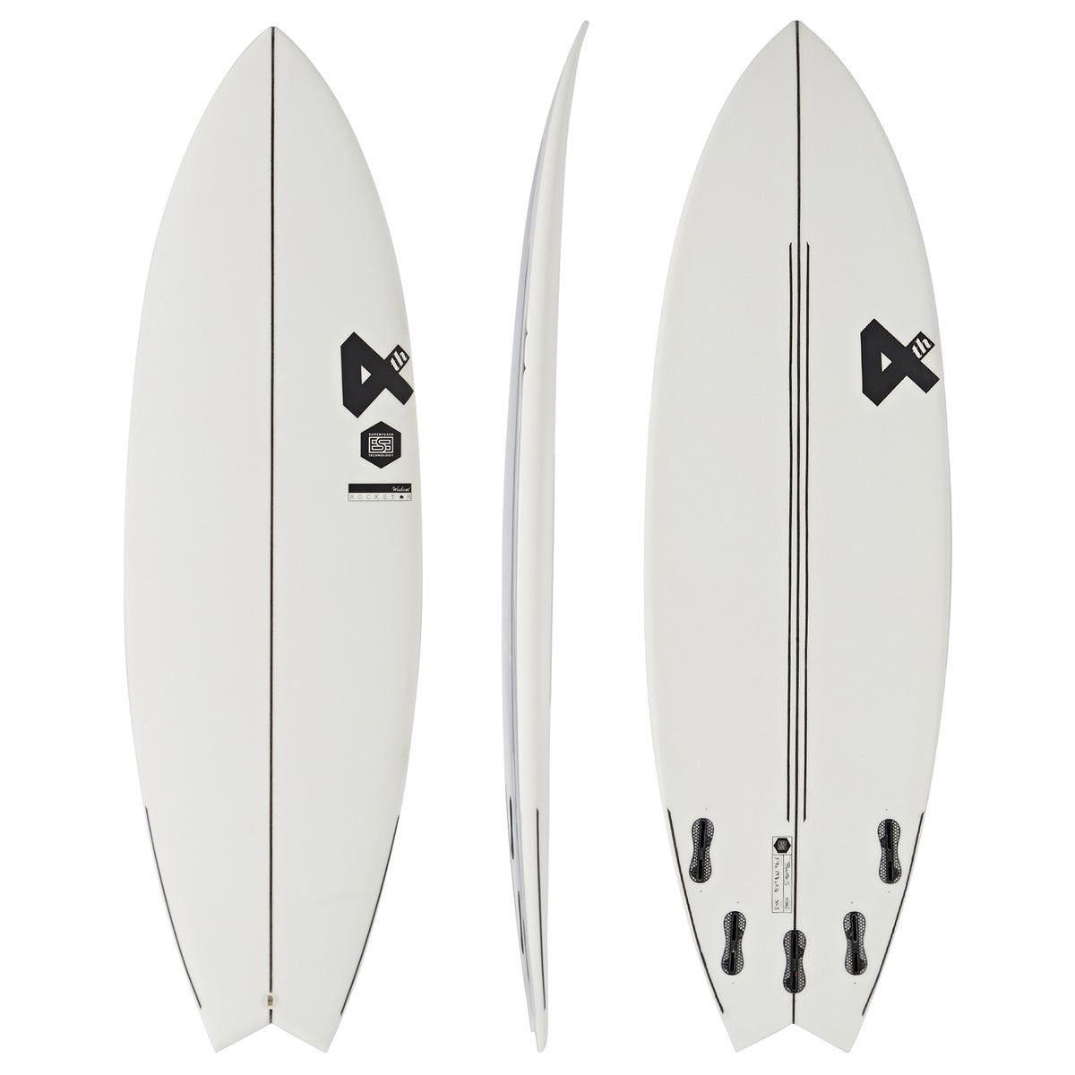 Fourth Surfboards Weekend Rockstar Ese Construction FCS II 5 Fin Surfboard