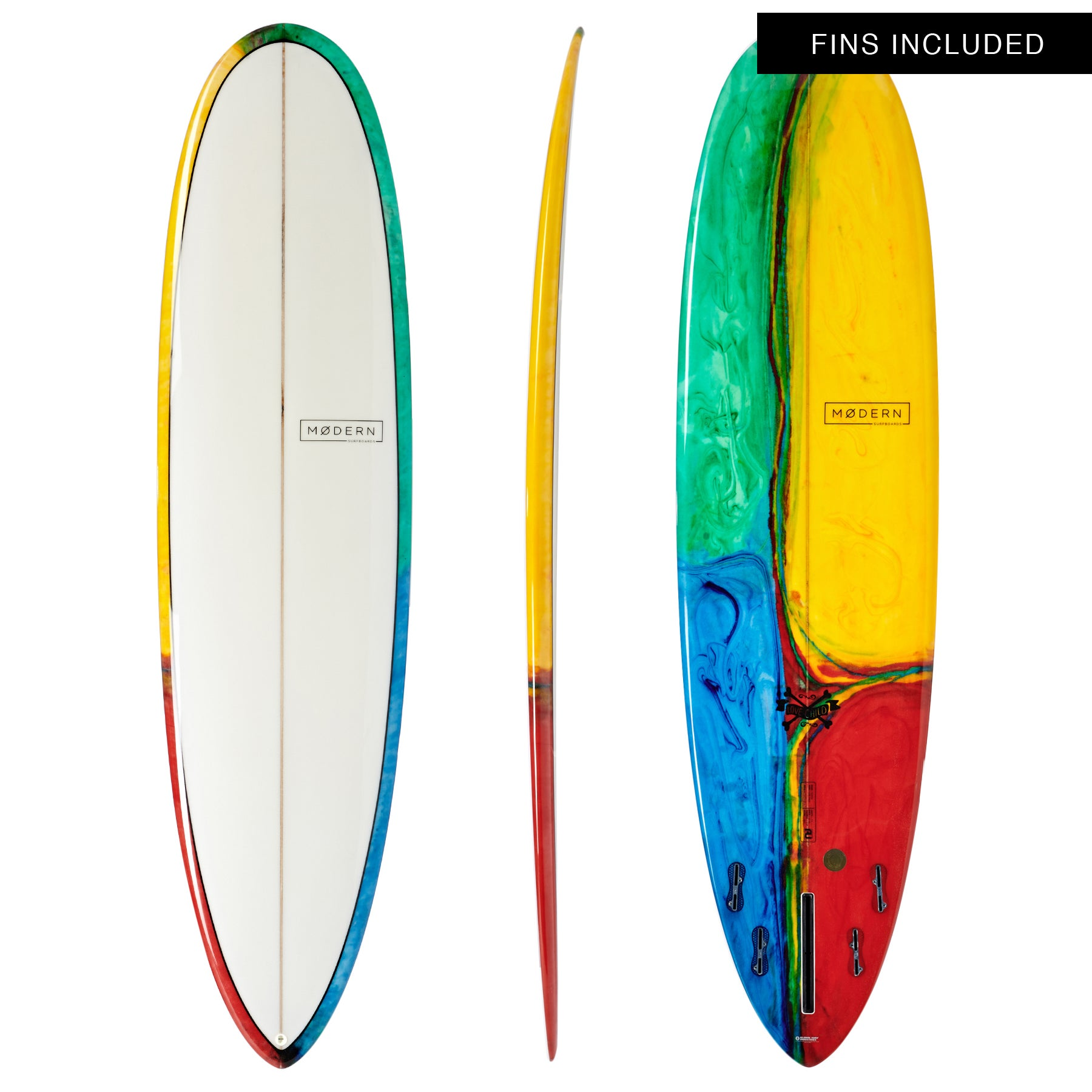 Modern Love Child PU Surfboard