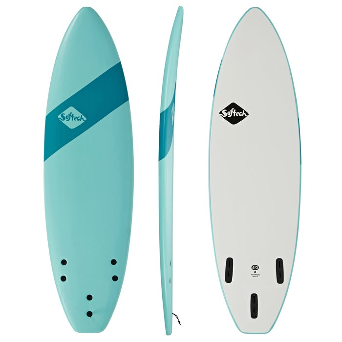 Softech Handshaped Original FCS II Shortboard Surfboard