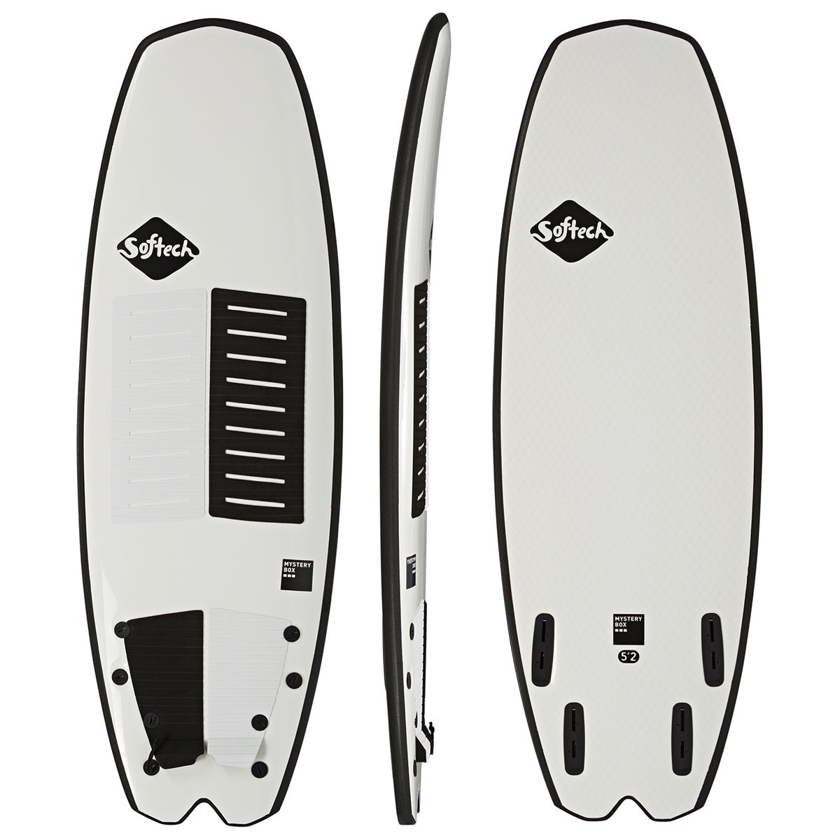 Softech Mystery Box FCS II Quad Surfboard