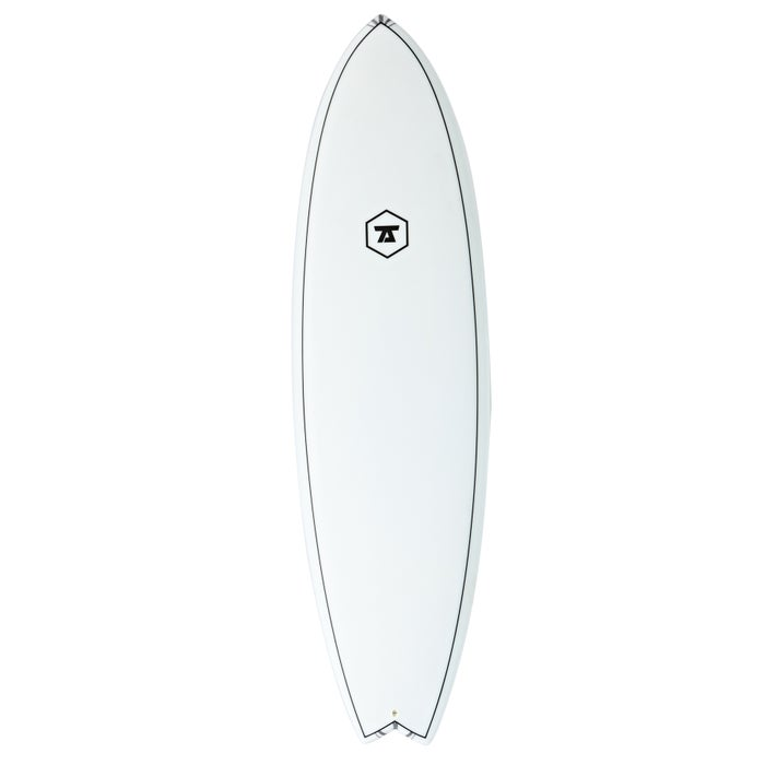7S Super Fish 4 Innegra Matrix FCS II Surfboard