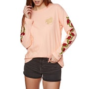 Santa Cruz Roses Ladies Long Sleeve T-Shirt