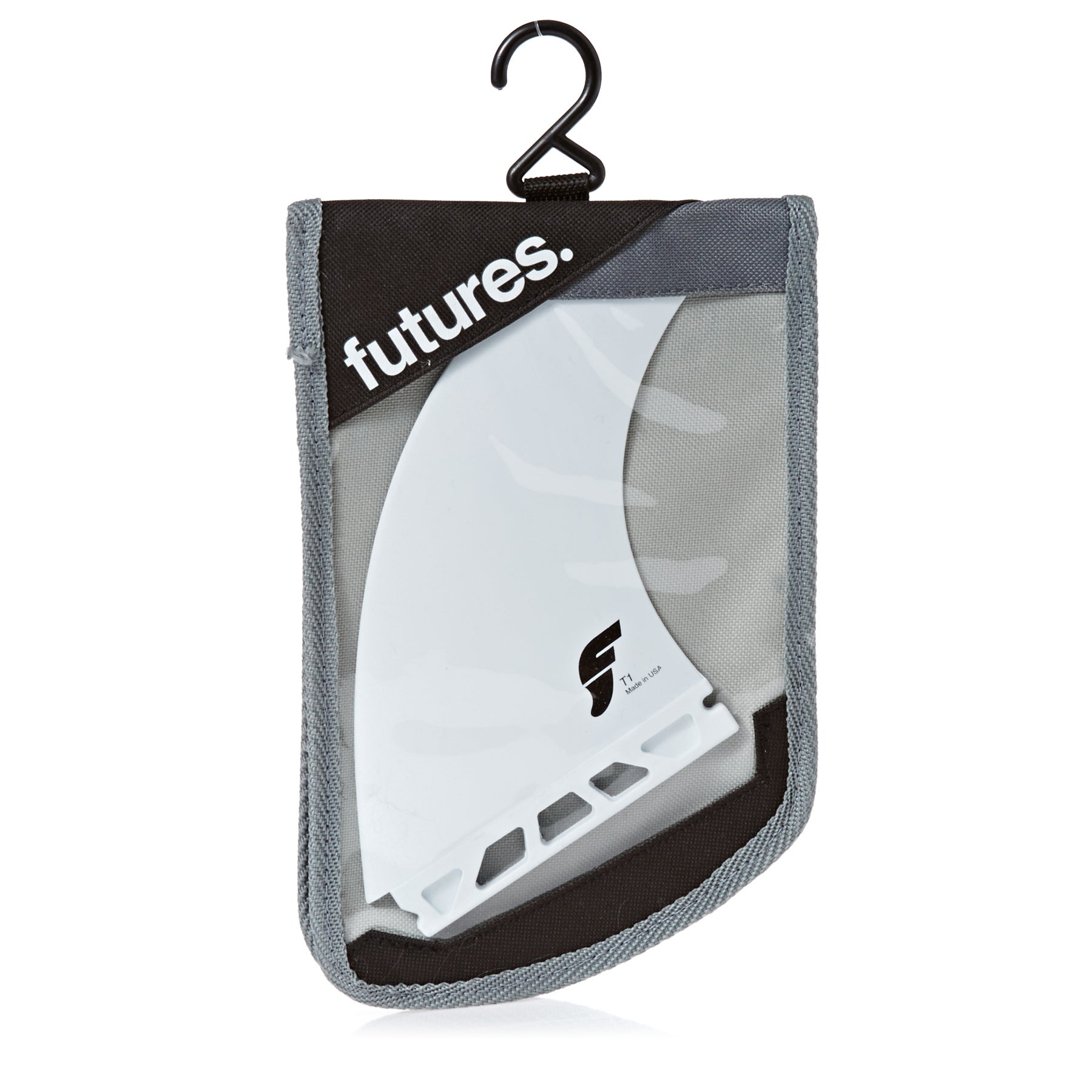 Futures FT1 Thermotech Twin Fin One Size White