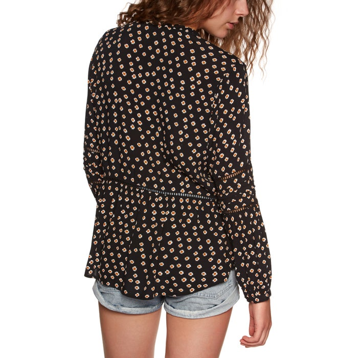 Amuse Society Chateau Woven Ladies Top