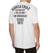 Santa Cruz Blackletter Short Sleeve T-Shirt