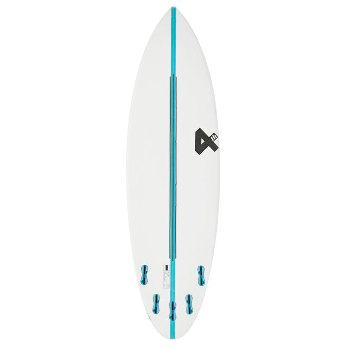 Fourth Surfboards Doofer Base Construction FCS II 5 Fin Surfboard