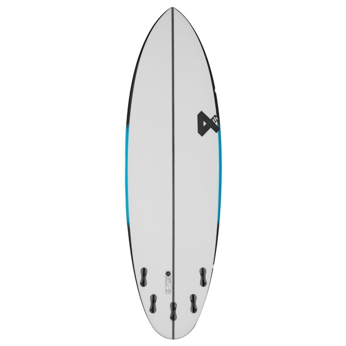 Fourth Surfboards Chilli Bean FX1 Construction FCS II 5 Fin Surfboard
