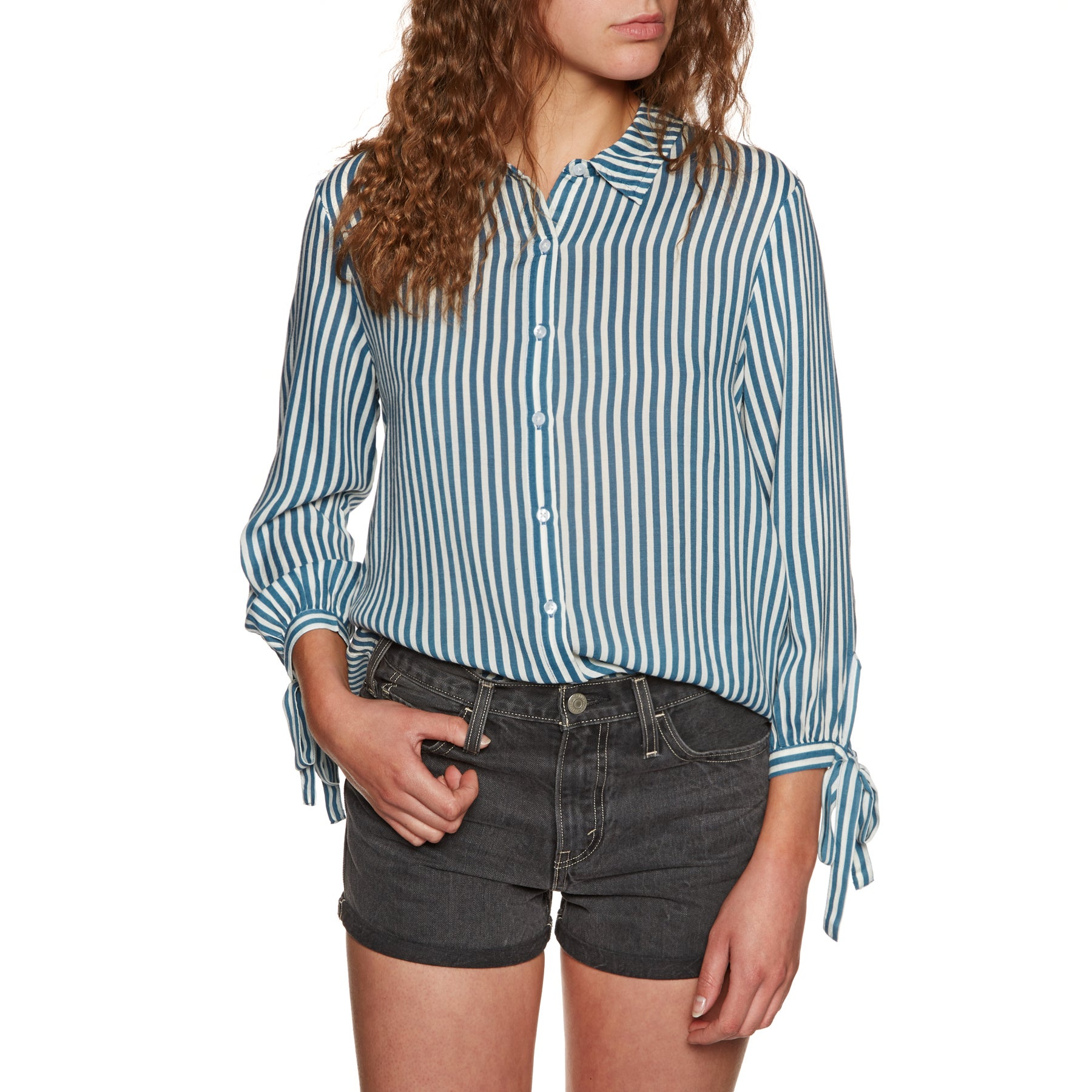 Amuse Society Sail Away Woven Ladies Shirt