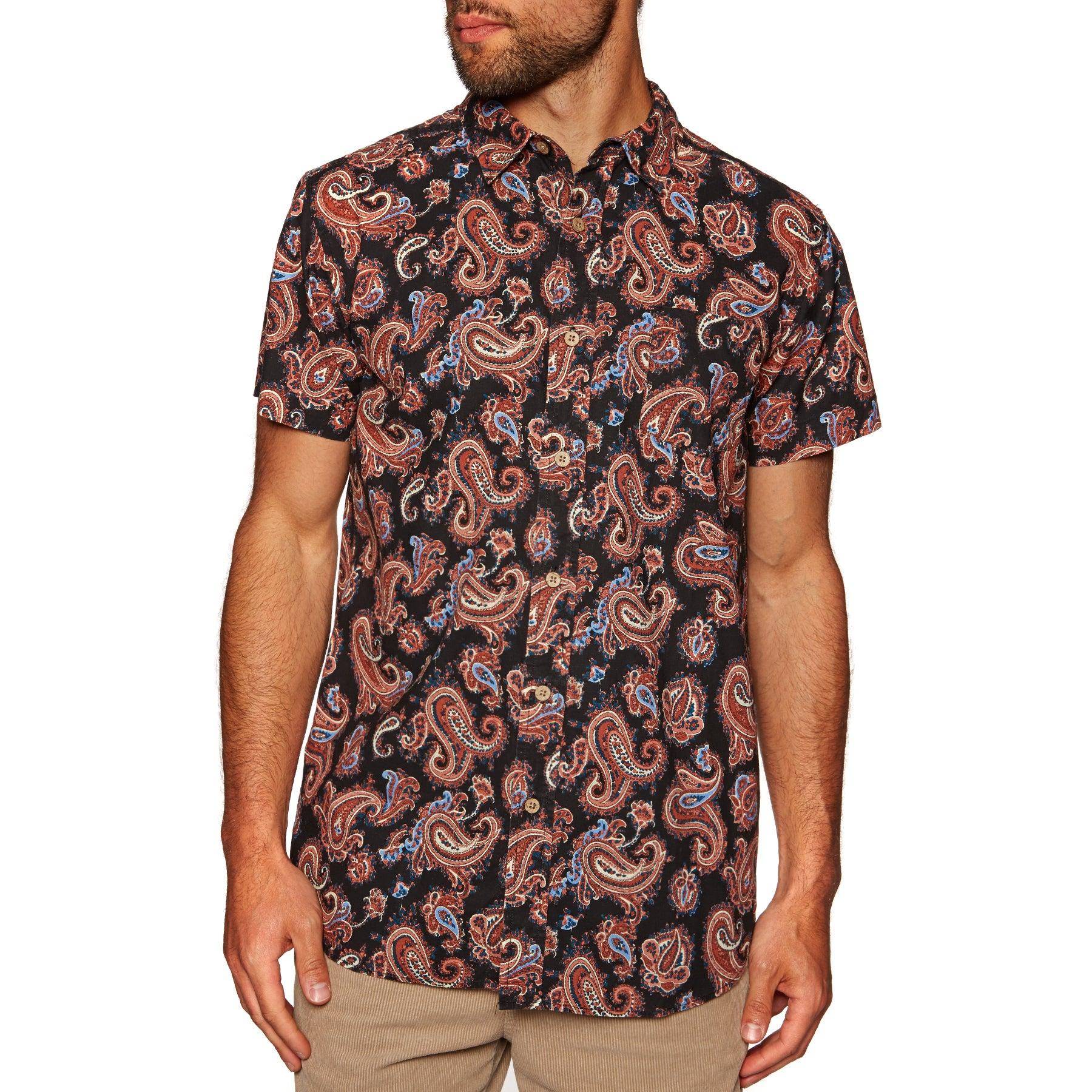 The Critical Slide Society Cape Solander Short Sleeve Shirt