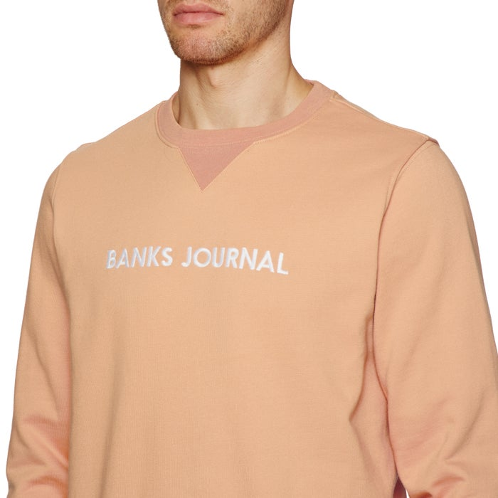 Banks Label Pullover Hoody