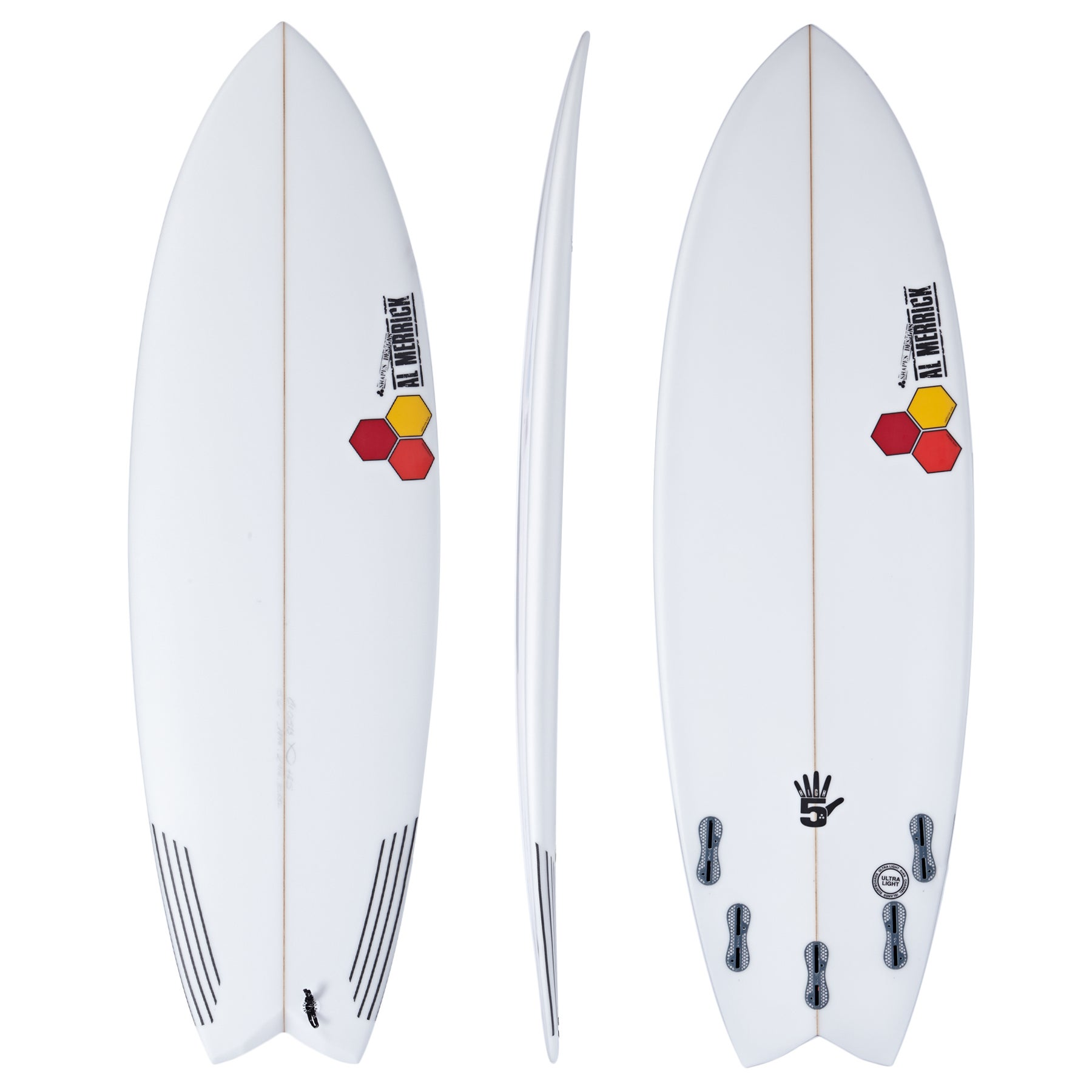Channel Islands High 5 FCS II 5 Fin Surfboard