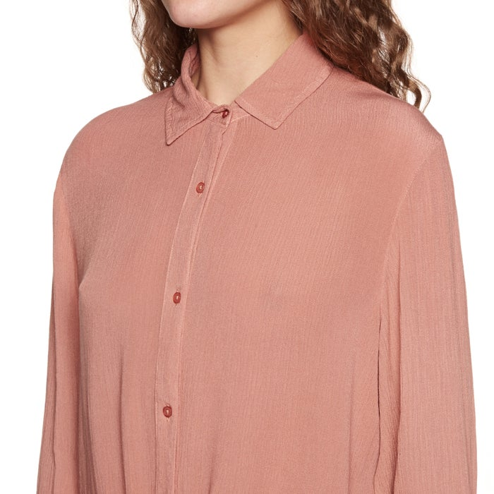 Amuse Society Cest La Vie Woven Ladies Shirt