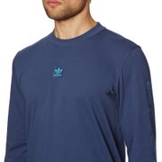 Adidas Mesh Long Sleeve T-Shirt