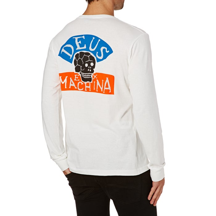 Deus Ex Machina Happy Skull Long Sleeve T-Shirt