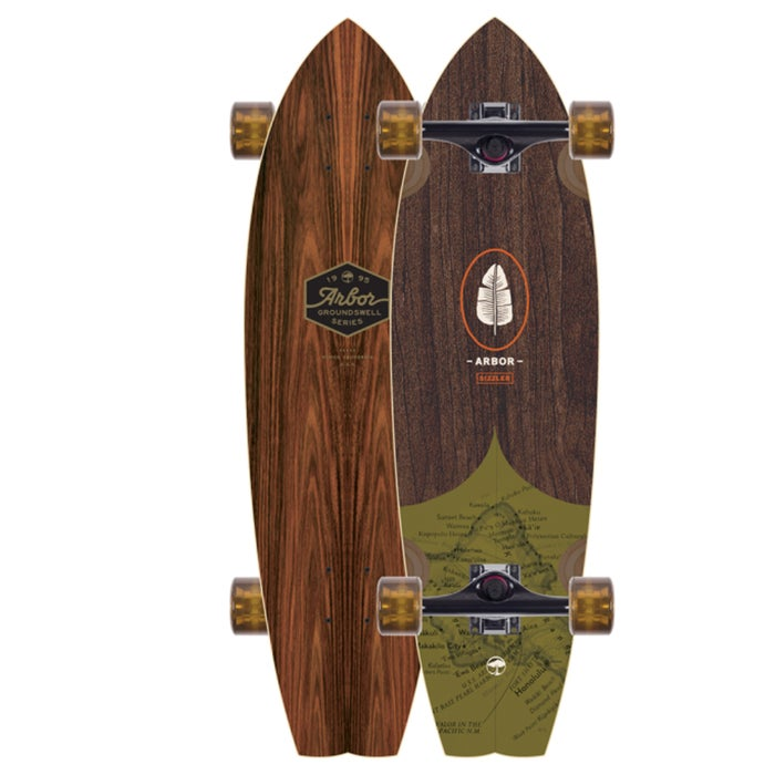 Arbor Sizzler Groundswell 32 Inch Longboard
