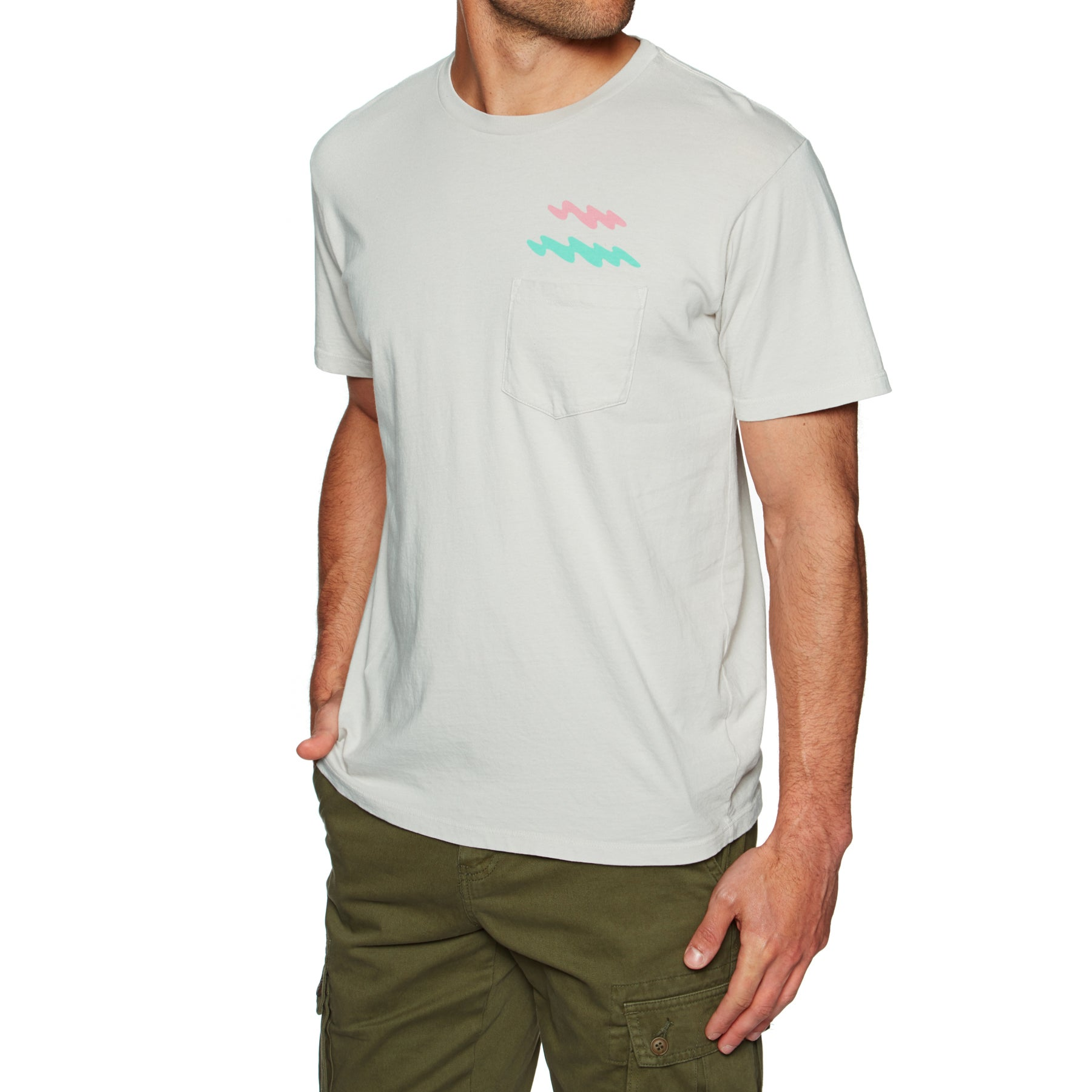 Mollusk Ziggy Zaggy Short Sleeve T-Shirt