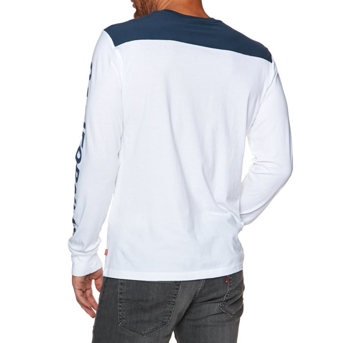 Levis Pieced Graphic Long Sleeve T-Shirt