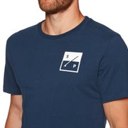 Surf Perimeters The Box Print Mens Short Sleeve T-Shirt