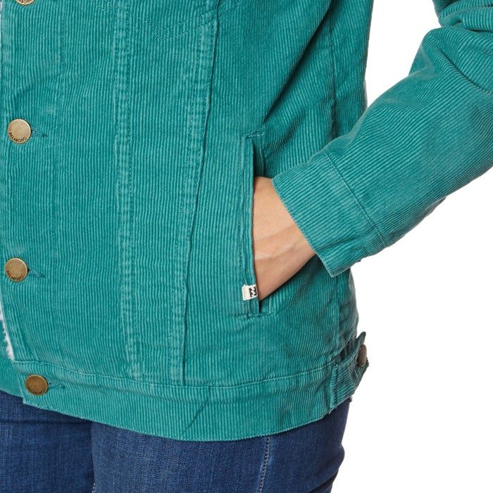 Billabong Who Me Cord Ladies Jacket