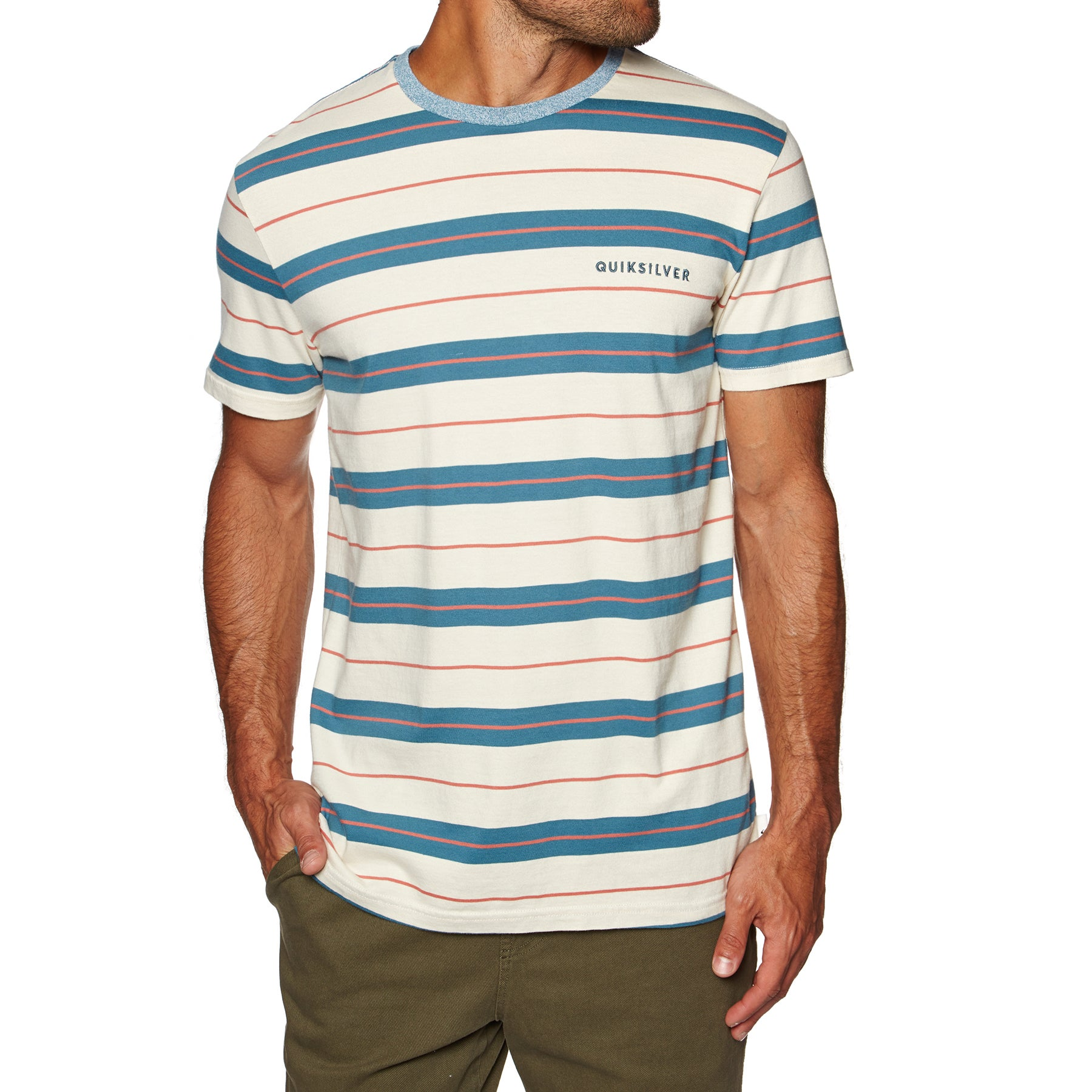 Quiksilver Dera Steps Mens Short Sleeve T-Shirt