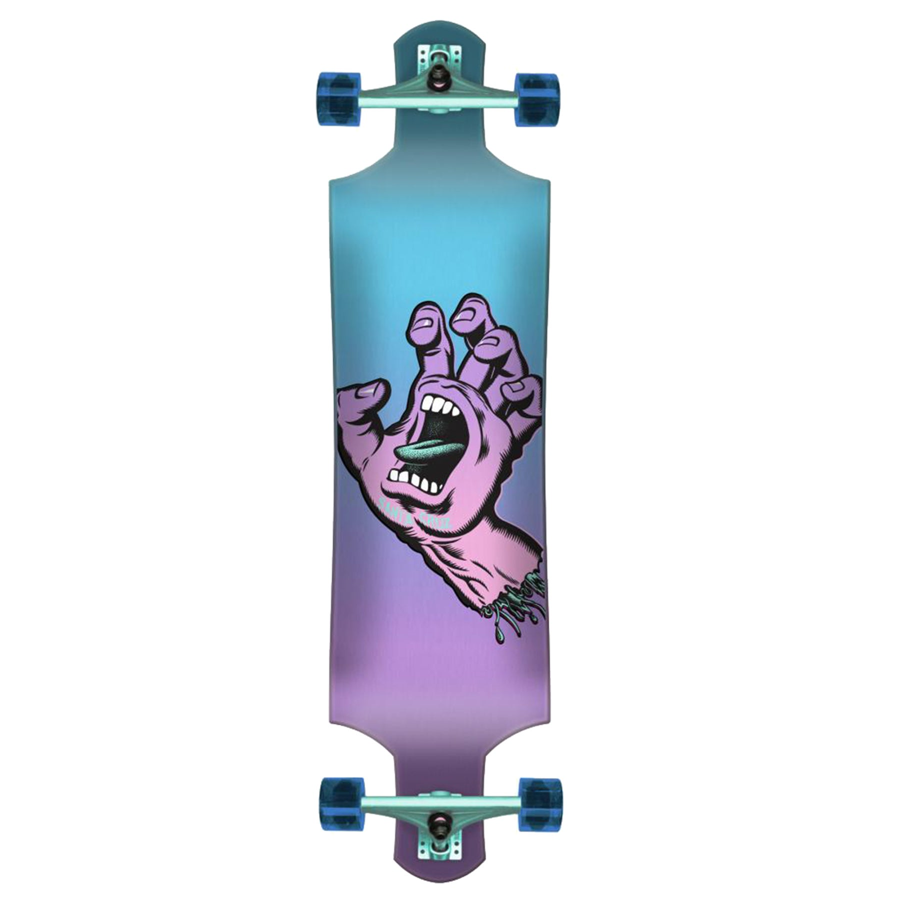 Santa Cruz Pastel Screaming Hand 40 Inch Longboard