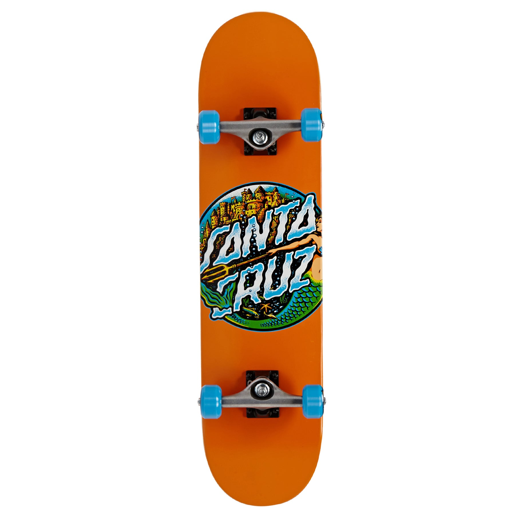 Santa Cruz Mermaid Dot 7.8 Inch Complete Skateboard