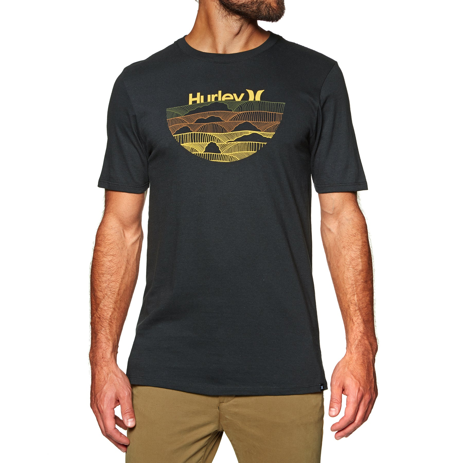 Hurley Core One&only Sets Short Sleeve T-Shirt