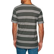 Billabong Die Cut Stripe Crew Short Sleeve T-Shirt
