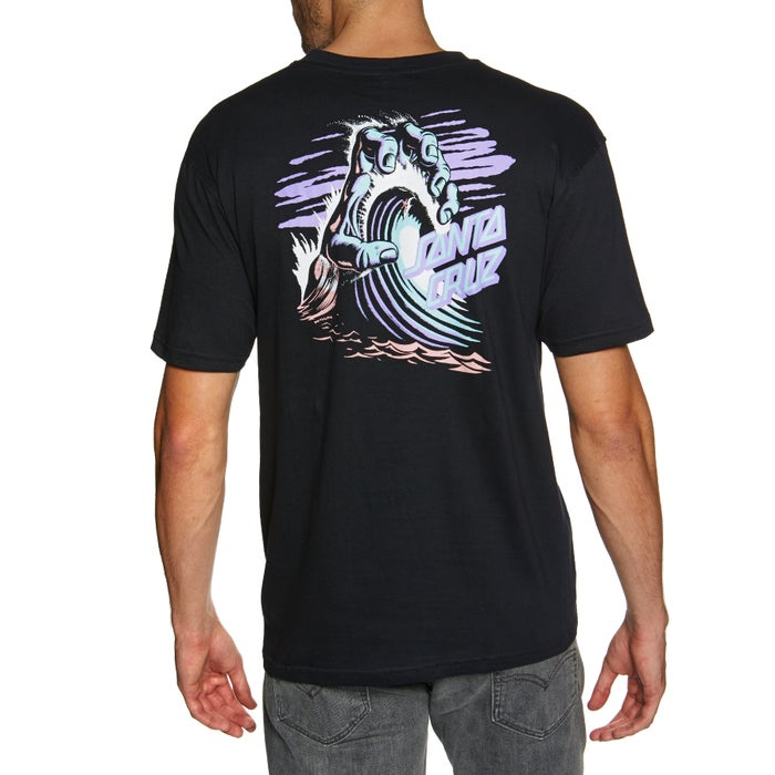 Santa Cruz Wave Hand Short Sleeve T-Shirt