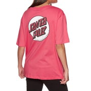 Santa Cruz Missing Dot Ladies Short Sleeve T-Shirt
