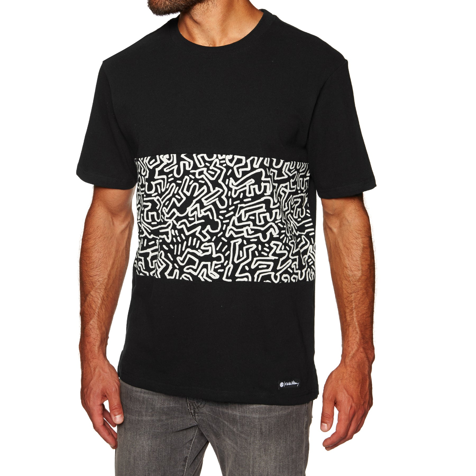 Element KH Big Panel Knit Short Sleeve T-Shirt