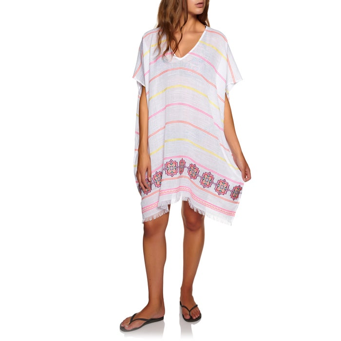 Seafolly Sun Temple Jacquard Hem Kaftan Ladies Kaftan