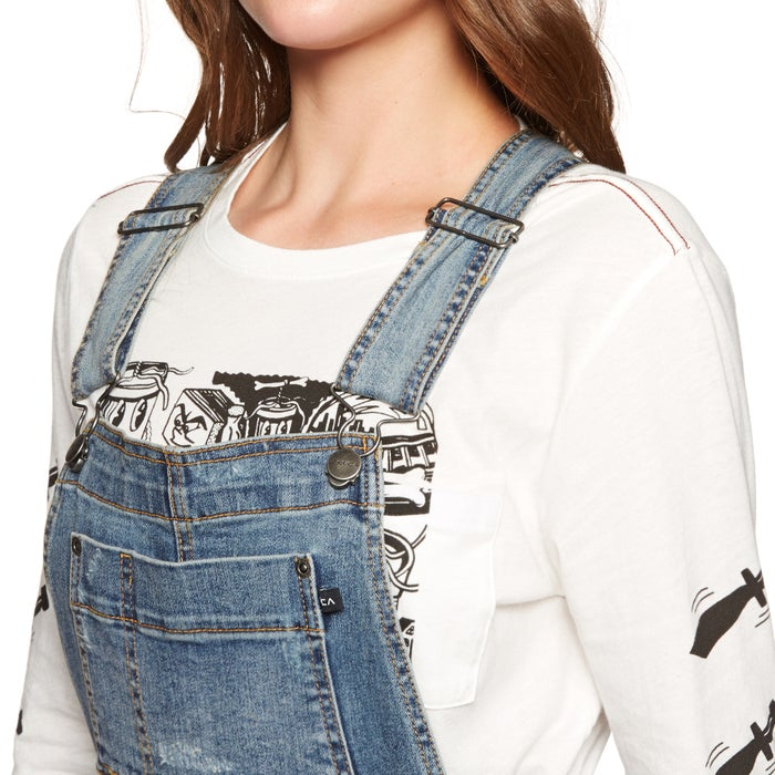 RVCA Foss Overall Ladies Dungarees