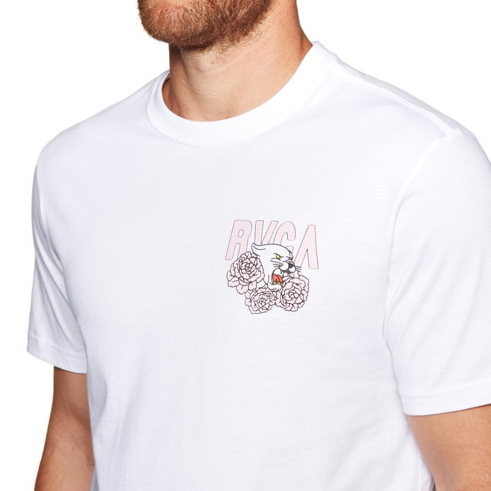 RVCA Panther N Roses Short Sleeve T-Shirt