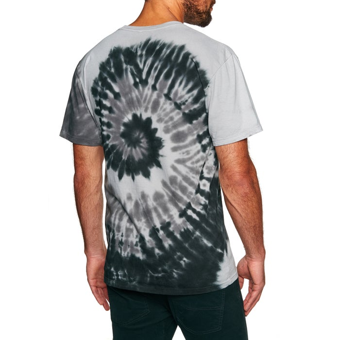 Huf Og Logo Spiral Wash Short Sleeve T-Shirt