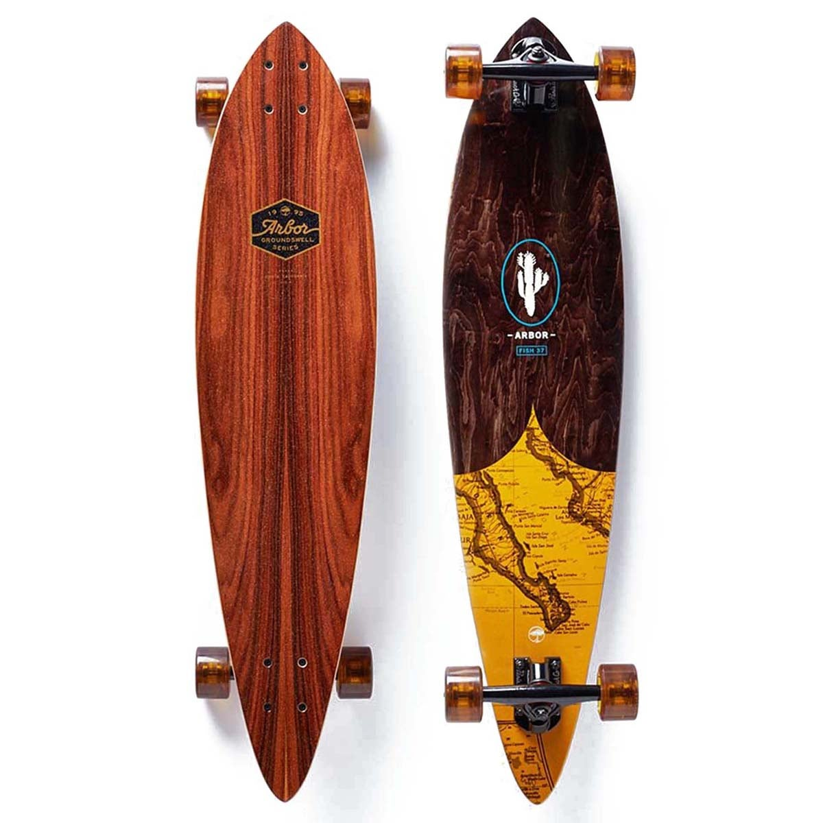 Arbor Fish Groundswell 37 Inch Longboard