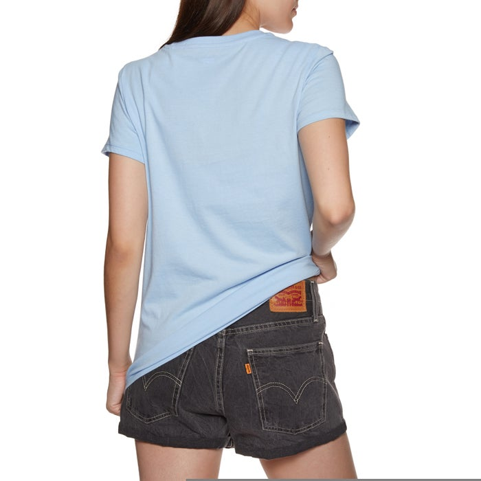 Levis The Perfect Tee Logo Print Ladies Short Sleeve T-Shirt