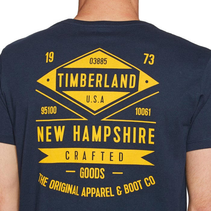Timberland Kennebec River BK Graphic Mens Short Sleeve T-Shirt