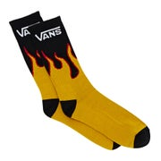 Vans Flames Crew 1 Pack Mens Socks