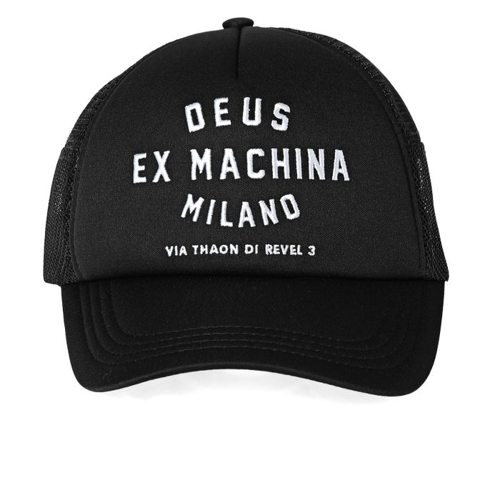 Deus Ex Machina Milano Address Trucker Mens Cap