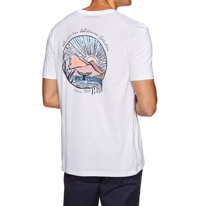 Quiksilver Waterman Whale Sunset Short Sleeve T-Shirt