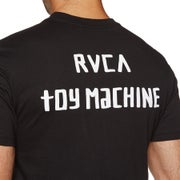 RVCA Small Toy Machine Mens Short Sleeve T-Shirt
