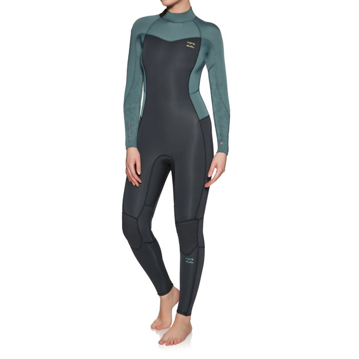 Billabong Furnace Synergy 4/3mm 2019 Back Zip Ladies Wetsuit