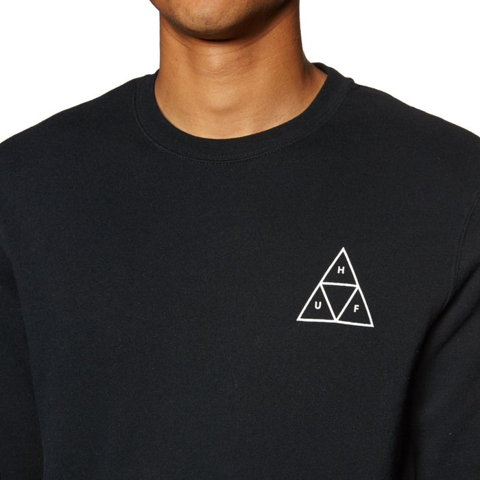 Huf Essentials Triple Triangle Crew Sweater