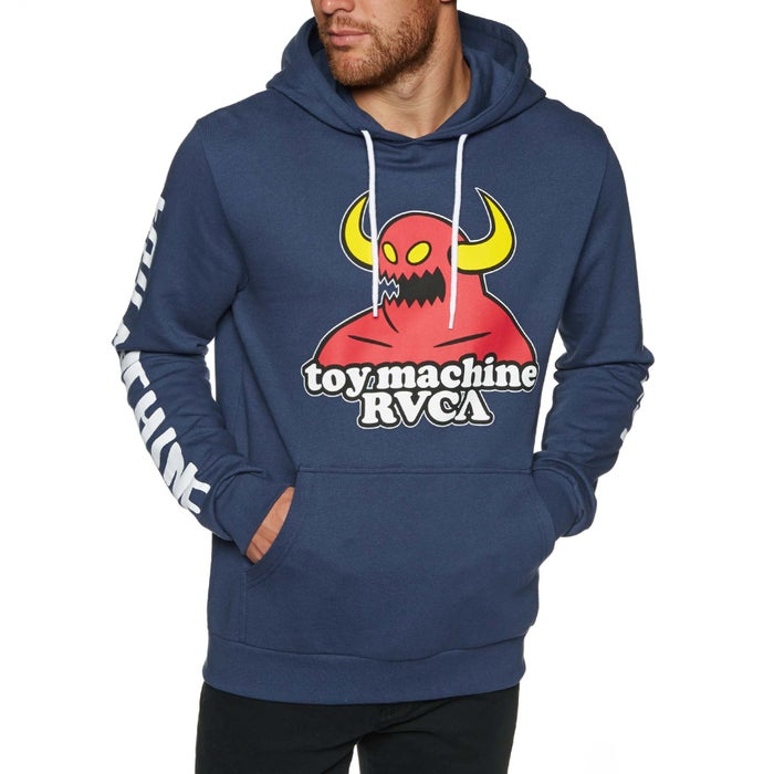 RVCA Toy Machine Mens Pullover Hoody