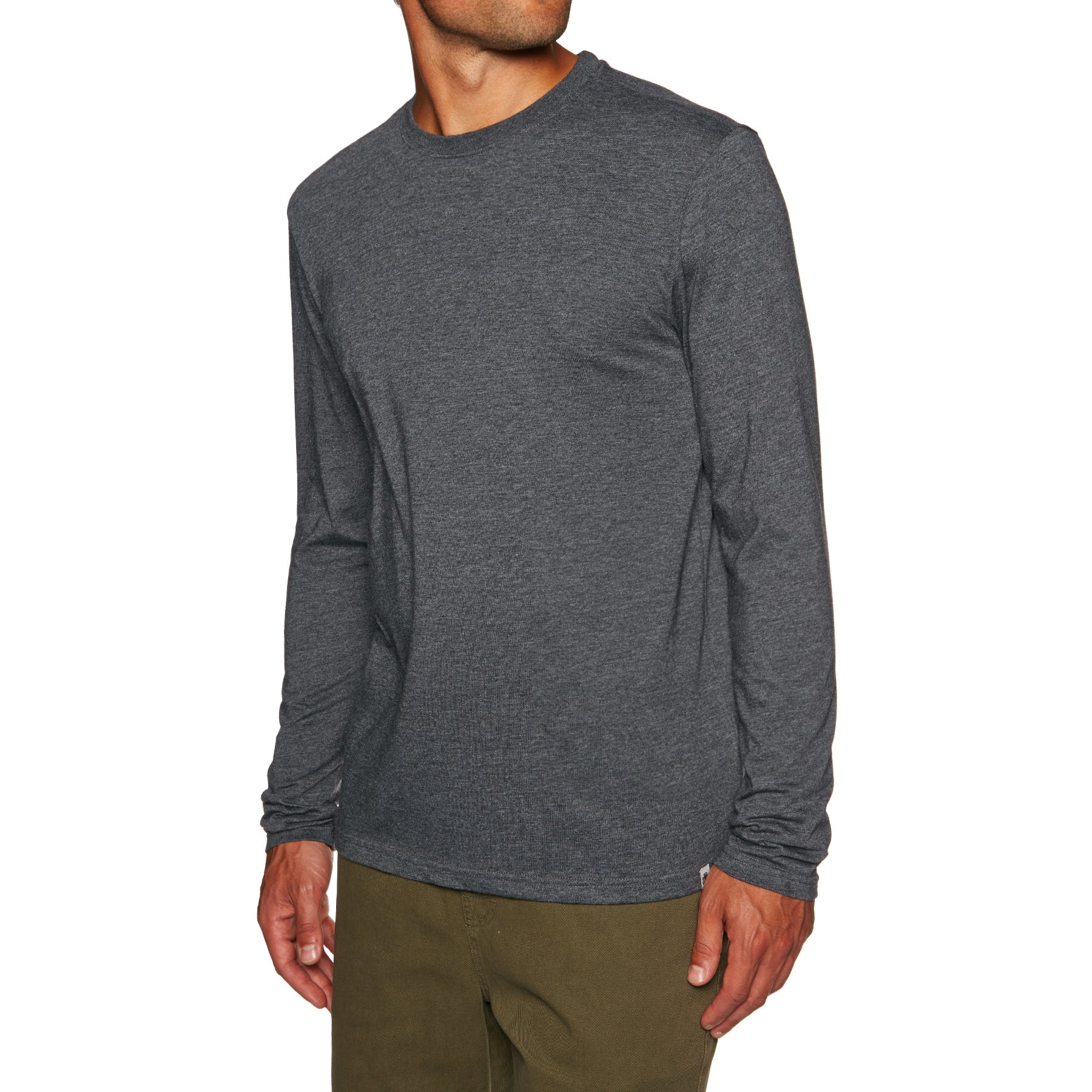 Element Basic Crew Mens Long Sleeve T-Shirt