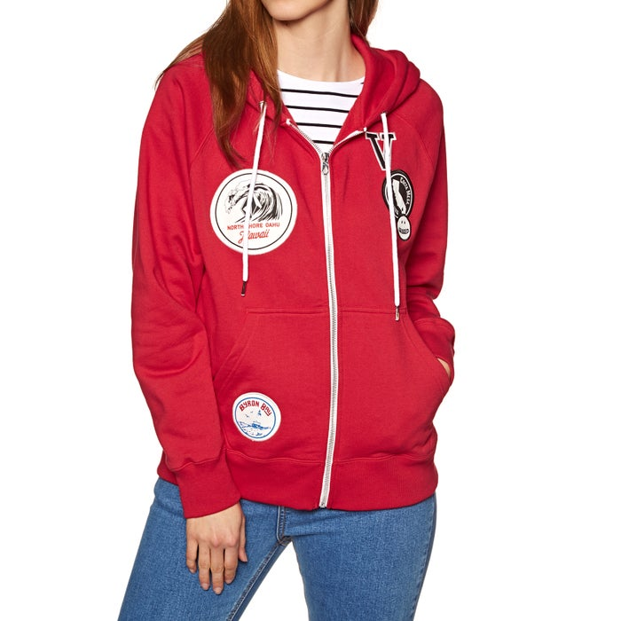 Volcom Travel Ban Ladies Zip Hoody
