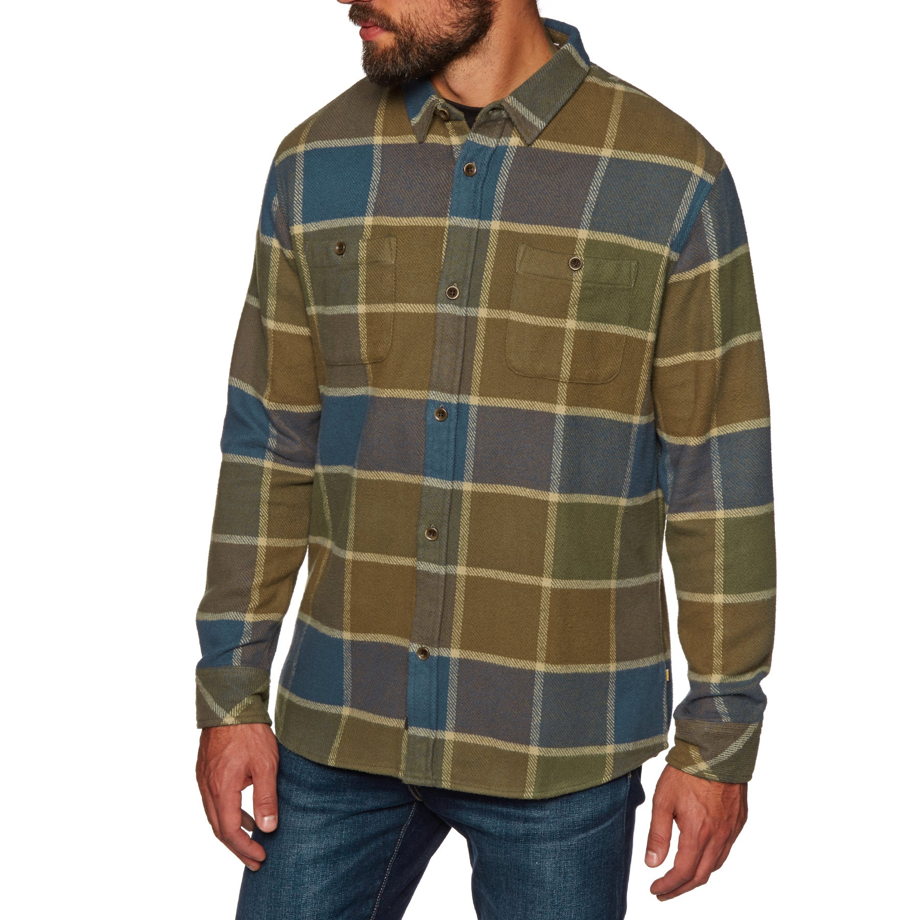 Quiksilver Mens Cold Breeze Flannel Shirt